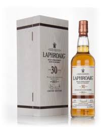 Laphroaig 30 Year Old whisky